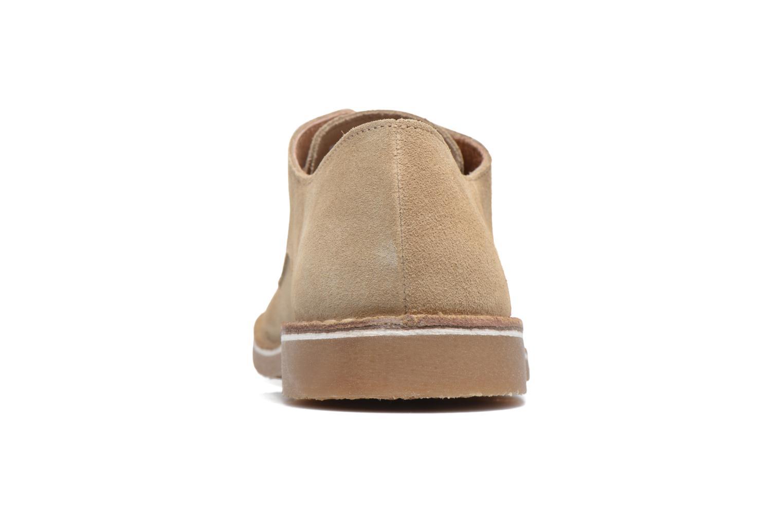 Chaussures à lacets Selected Homme Royce 2 Gris vue droite