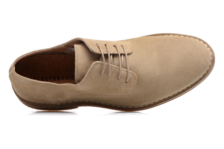 Chaussures à lacets Selected Homme Royce 2 Gris vue gauche