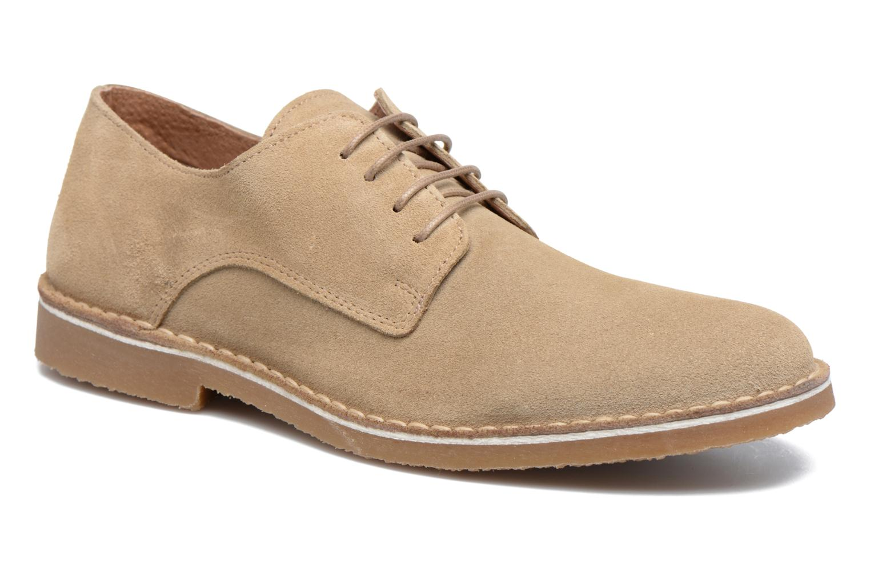 Chaussures à lacets Selected Homme Royce 2 Gris vue détail/paire