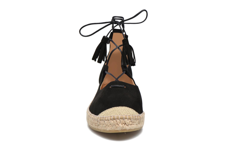Espadrilles Kanna Calaria Noir vue portées chaussures