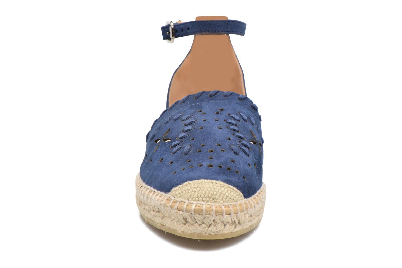 Espadrilles Kanna Dora Bleu vue portées chaussures