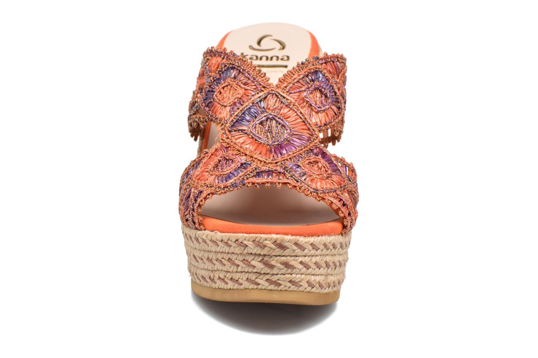 Mules et sabots Kanna Rossi Multicolore vue portées chaussures