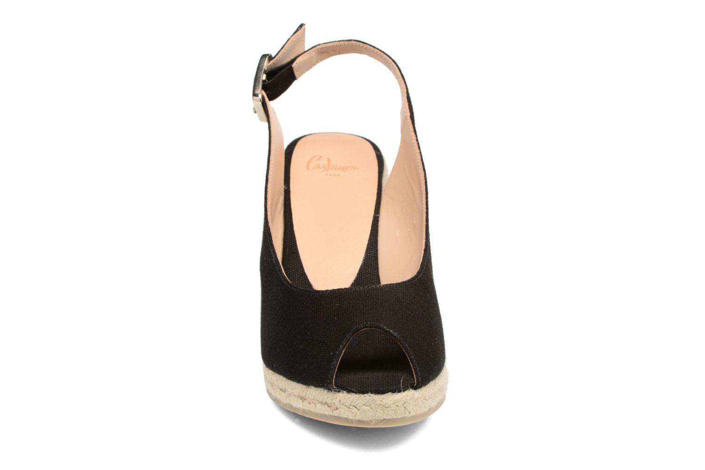 Espadrilles Castaner Beli H8 Noir vue portées chaussures