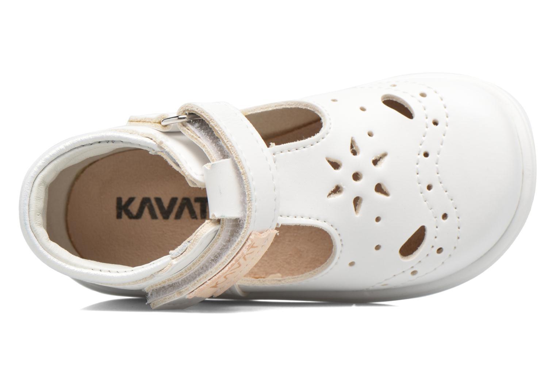 Sandales et nu-pieds Kavat Angsskar XC Blanc vue gauche