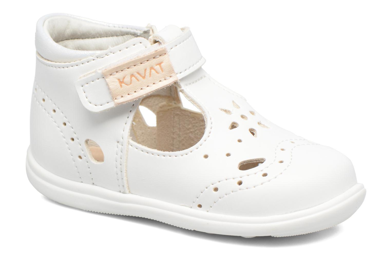 Sandales et nu-pieds Kavat Angsskar XC Blanc vue détail/paire