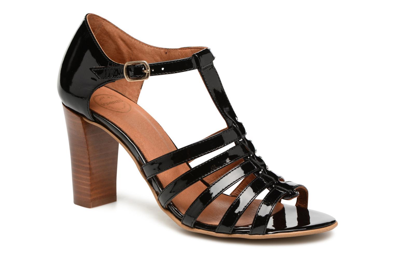 Sandales et nu-pieds Made by SARENZA Frida Banana #12 Noir vue droite