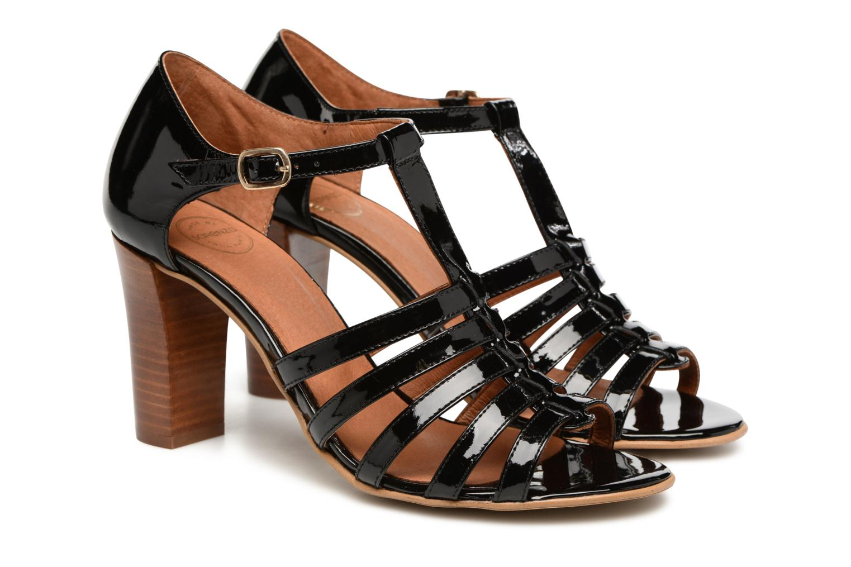 Sandales et nu-pieds Made by SARENZA Frida Banana #12 Noir vue derrière