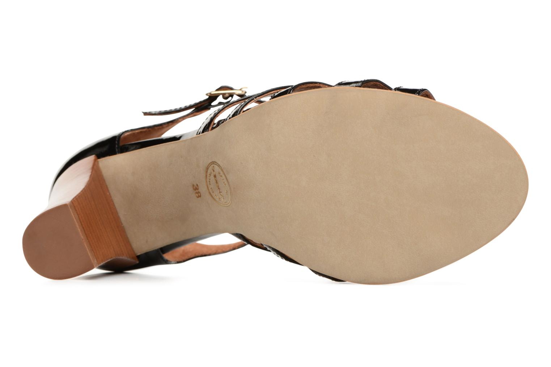 Sandales et nu-pieds Made by SARENZA Frida Banana #12 Noir vue haut