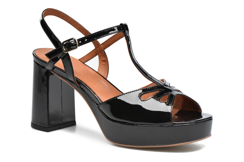 Sandales et nu-pieds Made by SARENZA Tennesse Sister #3 Noir vue droite