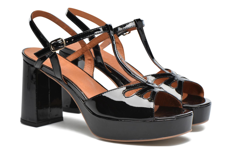 Sandales et nu-pieds Made by SARENZA Tennesse Sister #3 Noir vue derrière