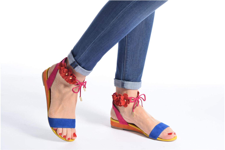 Sandales et nu-pieds Made by SARENZA Frida Banana #7 Multicolore vue bas / vue portée sac