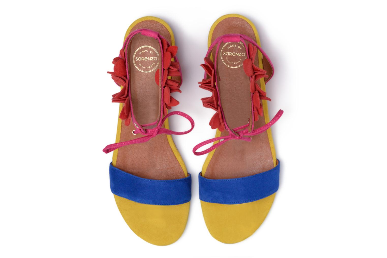 Sandales et nu-pieds Made by SARENZA Frida Banana #7 Multicolore vue portées chaussures