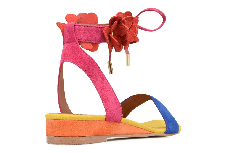 Sandales et nu-pieds Made by SARENZA Frida Banana #7 Multicolore vue face