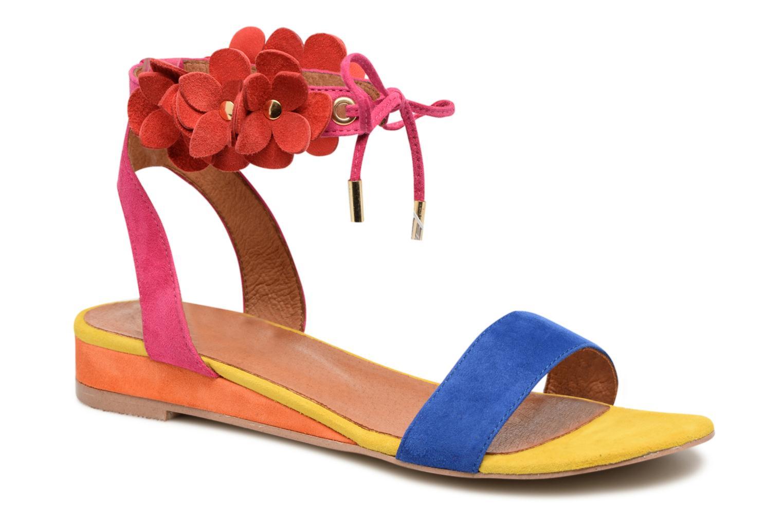 Sandales et nu-pieds Made by SARENZA Frida Banana #7 Multicolore vue droite