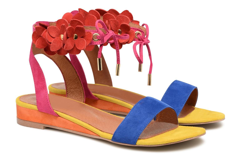Sandales et nu-pieds Made by SARENZA Frida Banana #7 Multicolore vue derrière