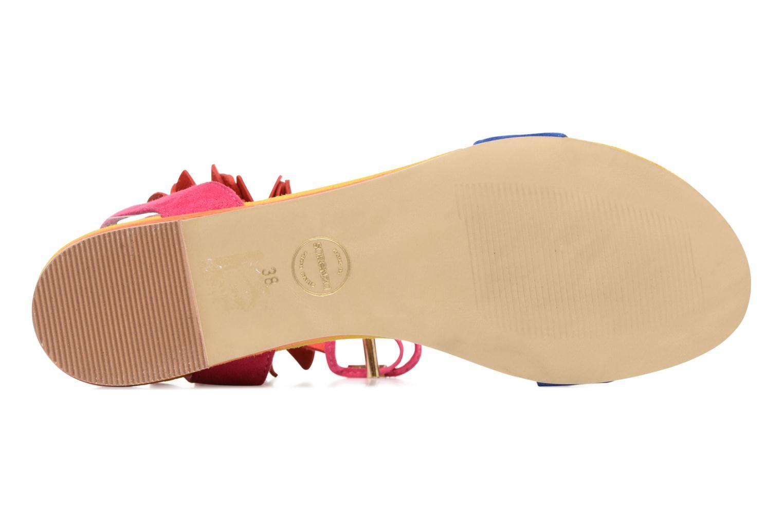 Sandales et nu-pieds Made by SARENZA Frida Banana #7 Multicolore vue haut