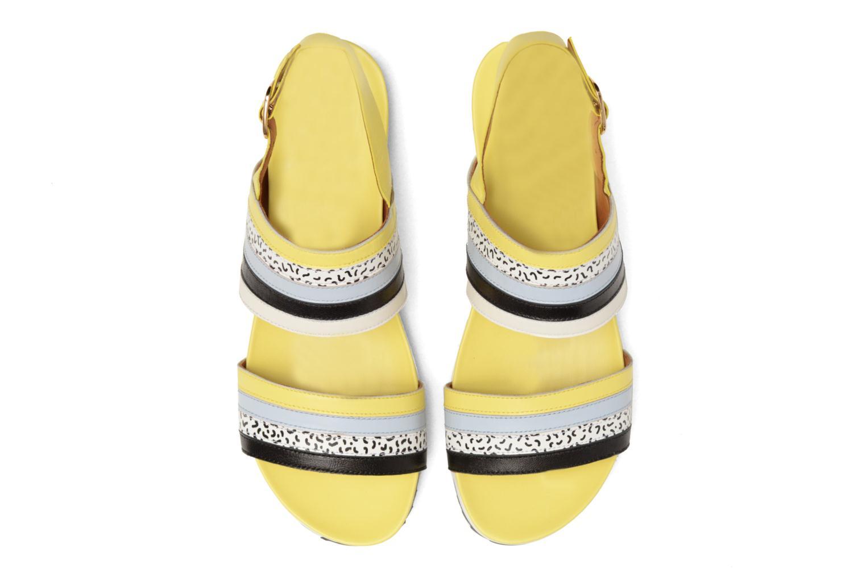 Sandales et nu-pieds Made by SARENZA Pastel Belle #7 Multicolore vue portées chaussures