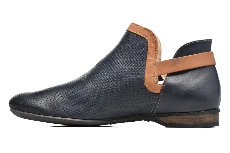 Bottines et boots Dorking Candy 7051 Bleu vue face