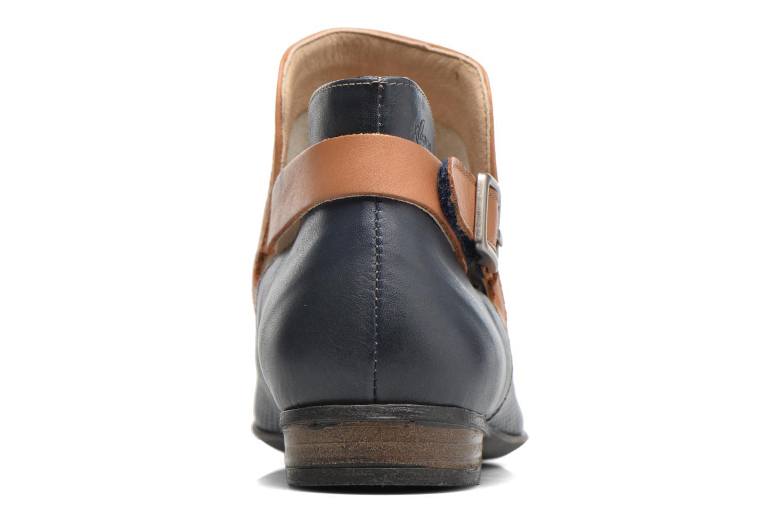 Bottines et boots Dorking Candy 7051 Bleu vue droite