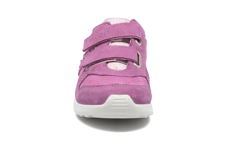 Baskets Ricosta Tina Rose vue portées chaussures