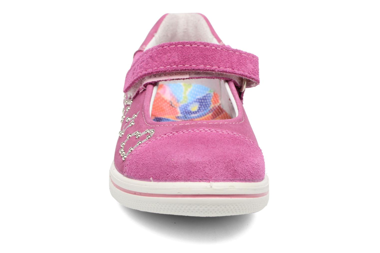 Ballerines Ricosta Chloe Rose vue portées chaussures