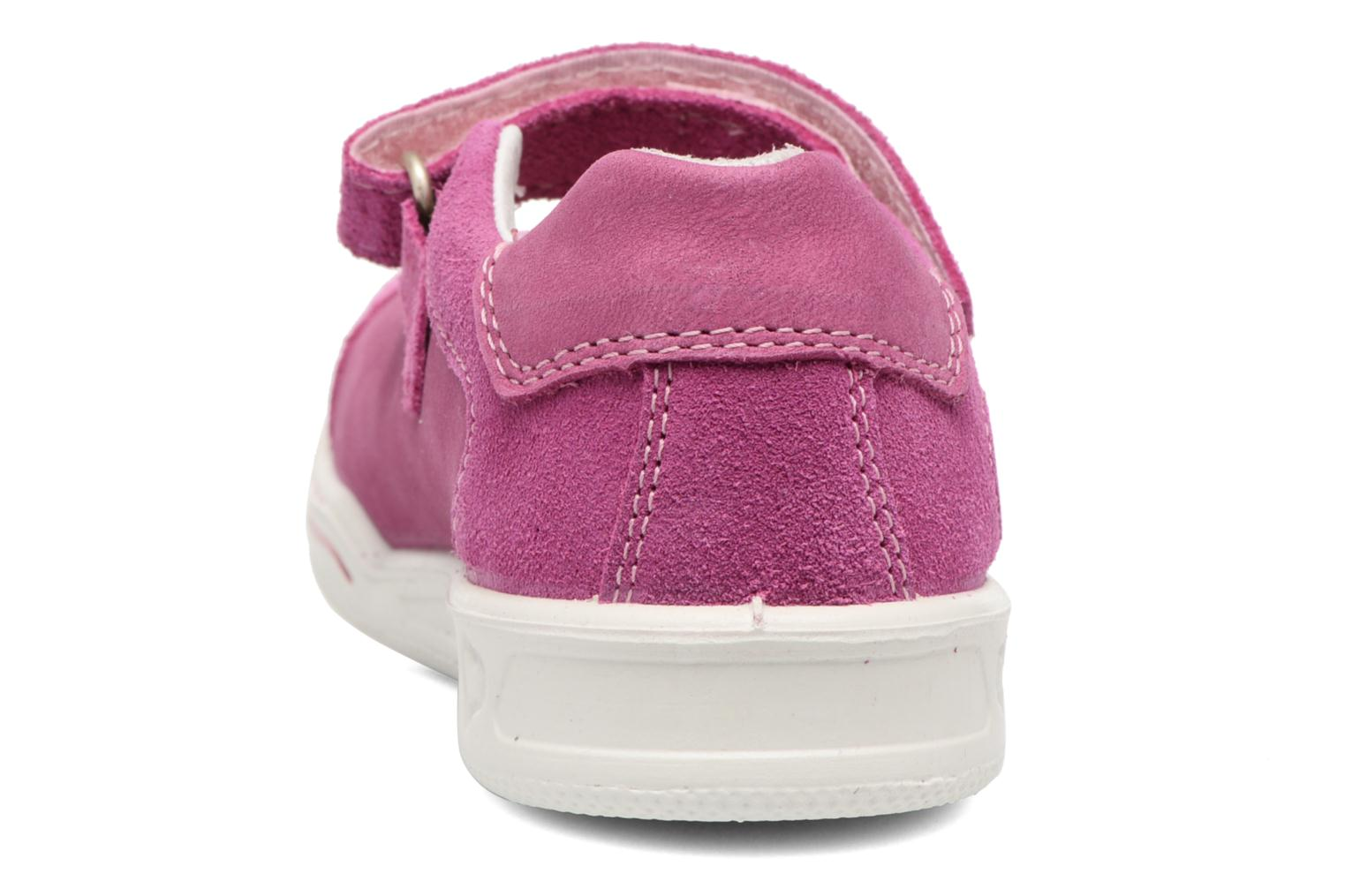 Ballet pumps Ricosta Chloe Pink view from the right