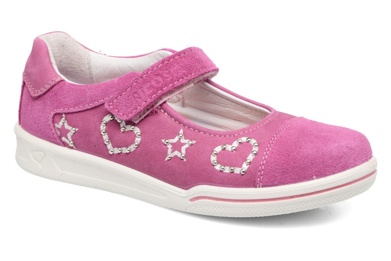 Ballerinaer Ricosta Chloe Pink detaljeret billede af skoene