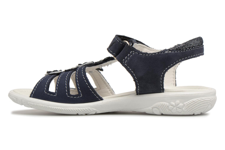 Sandales et nu-pieds Ricosta Chica Bleu vue face