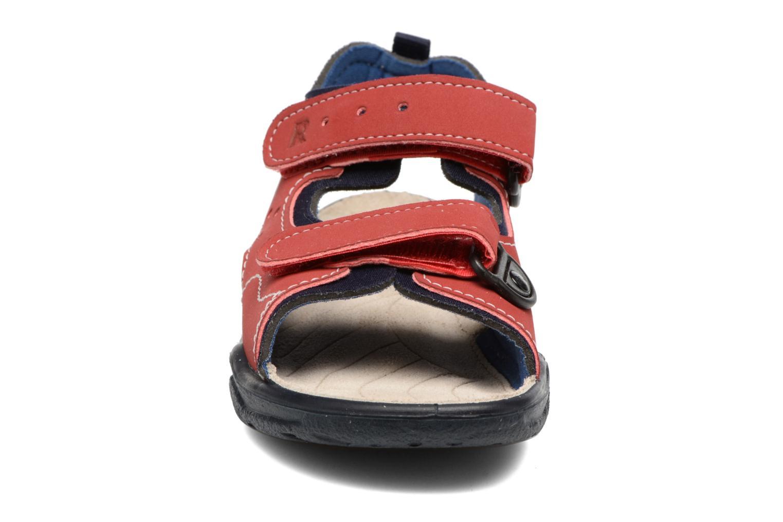 Sandales et nu-pieds Ricosta Surf Rouge vue portées chaussures