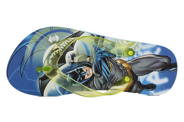 Slippers Batman Bat Devon Blauw links