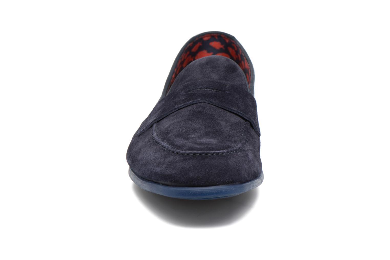 Slipper Doucal's MAURO Elba Bluette schwarz schuhe getragen
