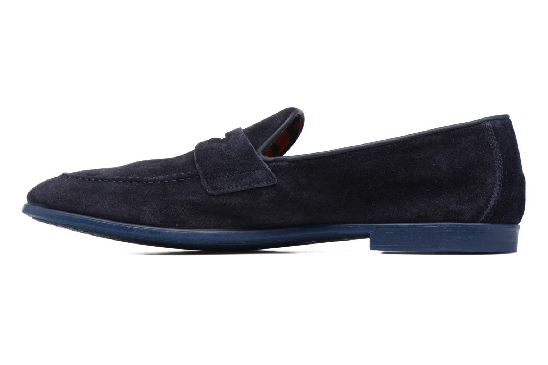 Loafers Doucal's MAURO Elba Bluette Svart bild från framsidan