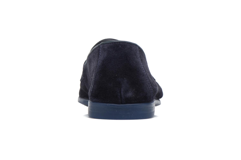 Slipper Doucal's MAURO Elba Bluette schwarz ansicht von rechts