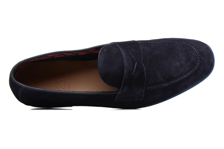 Loafers Doucal's MAURO Elba Bluette Svart bild från vänster sidan