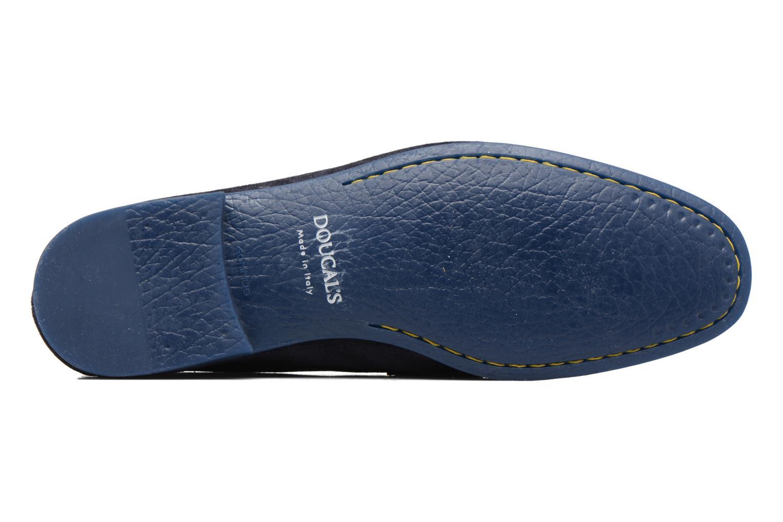 Loafers Doucal's MAURO Elba Bluette Svart bild från ovan