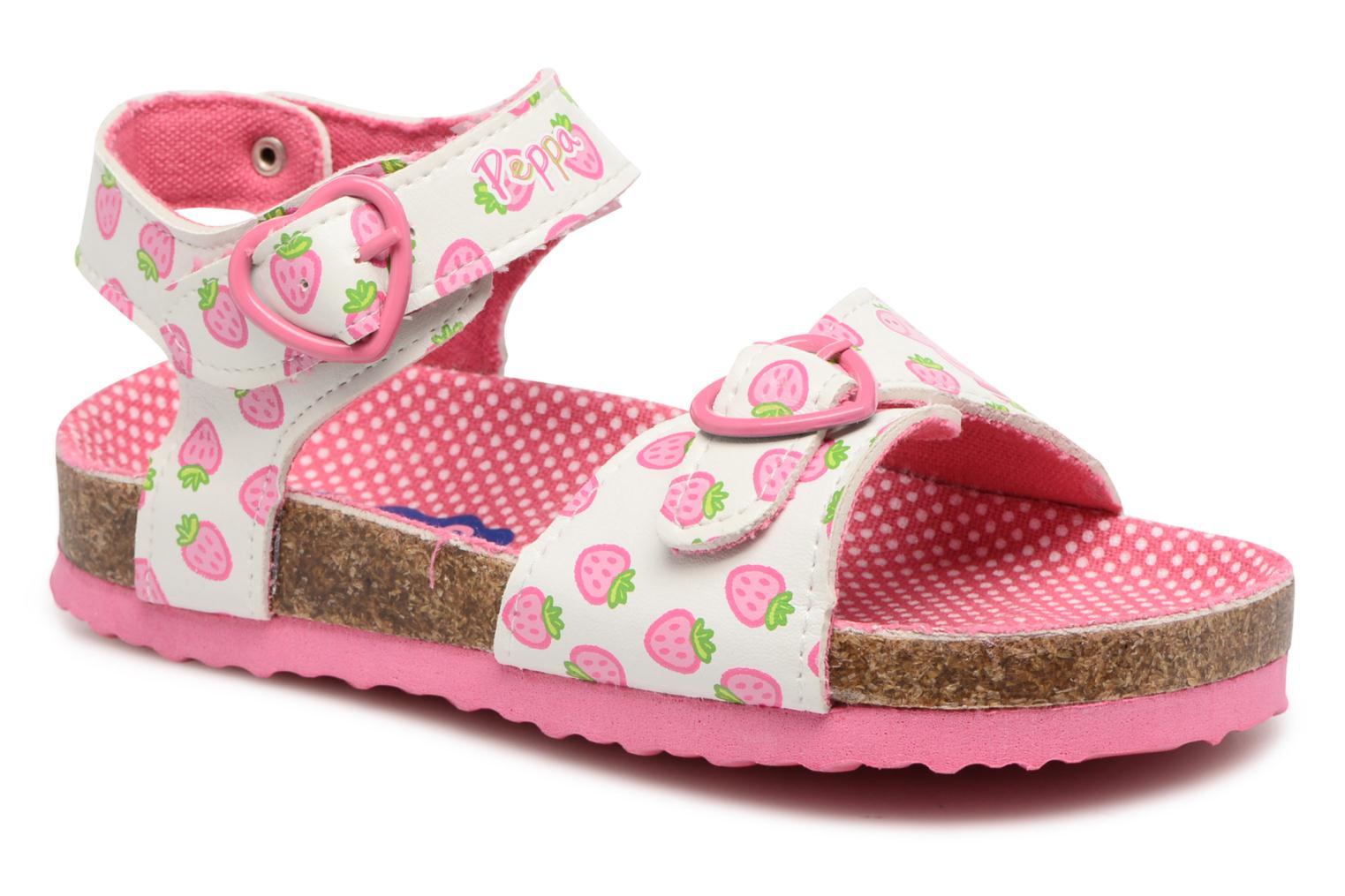 Sandals Peppa Pig PP MAXIE Pink detailed view/ Pair view