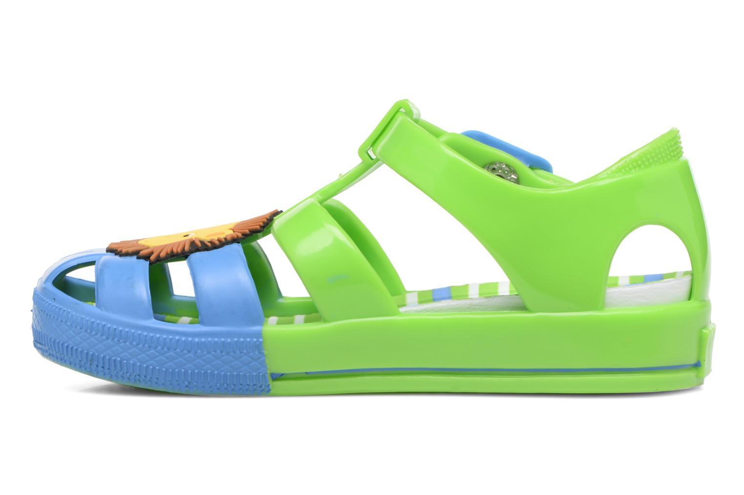 Sandalias Colors of California Jenny sandals LION Verde vista de frente