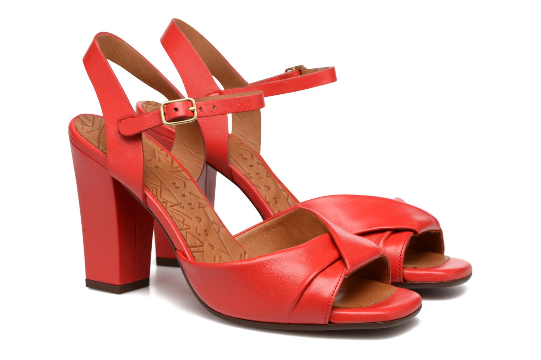 Sandales et nu-pieds Chie Mihara Asha Rouge vue 3/4