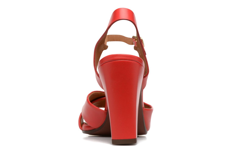 Sandales et nu-pieds Chie Mihara Asha Rouge vue droite