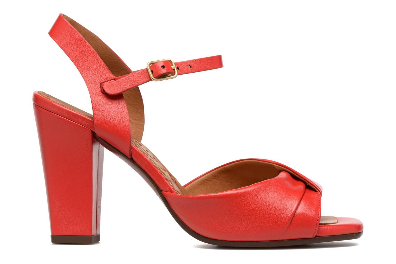 Sandales et nu-pieds Chie Mihara Asha Rouge vue derrière