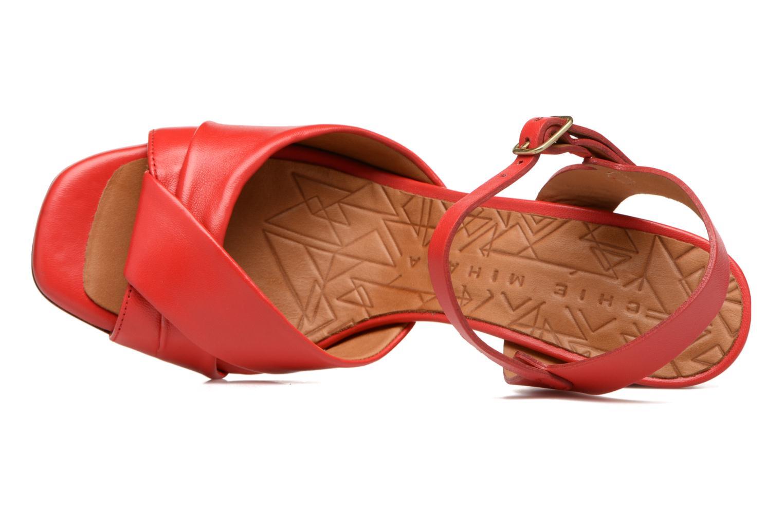 Sandales et nu-pieds Chie Mihara Asha Rouge vue gauche