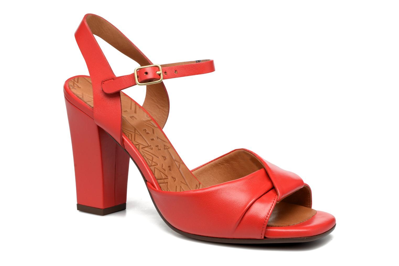 Sandales et nu-pieds Chie Mihara Asha Rouge vue détail/paire