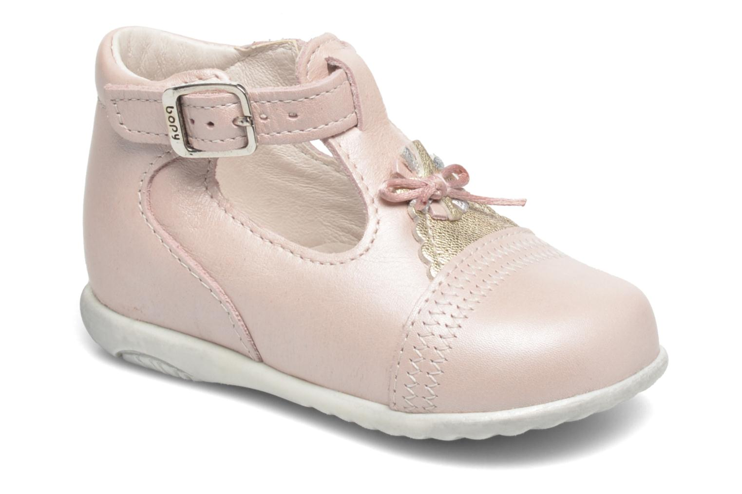 Summer boots Bopy Zegana Pink detailed view/ Pair view