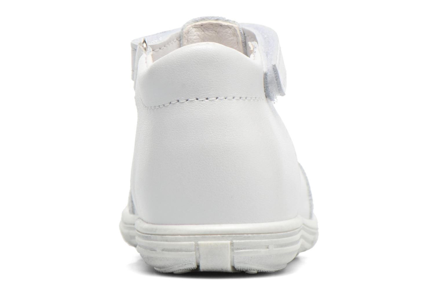 Sandals Bopy Zolita White view from the right