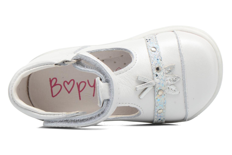 Sandali e scarpe aperte Bopy Zolita Bianco immagine sinistra