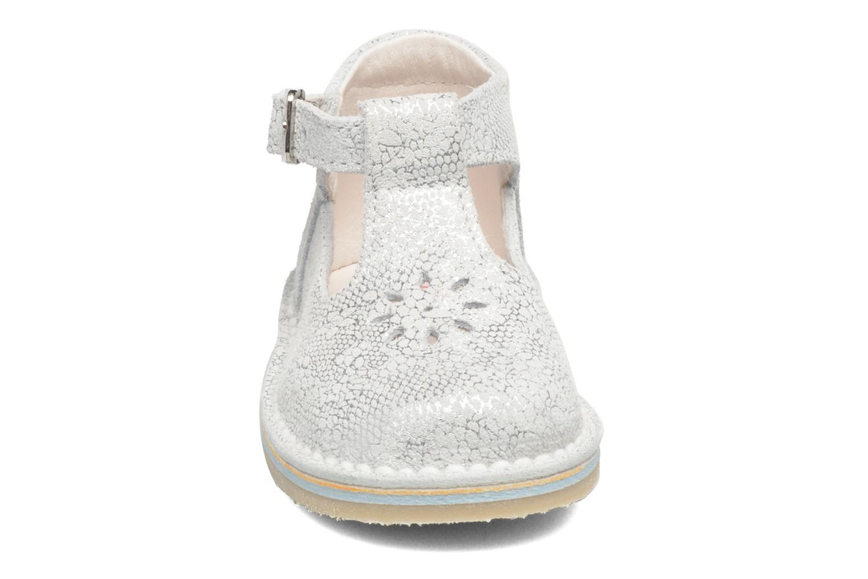 Bottines d'été Bopy Mapa Argent vue portées chaussures