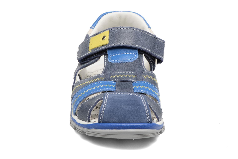 Sandales et nu-pieds Bopy Ebriac Bleu vue portées chaussures