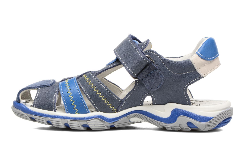 Sandales et nu-pieds Bopy Ebriac Bleu vue face