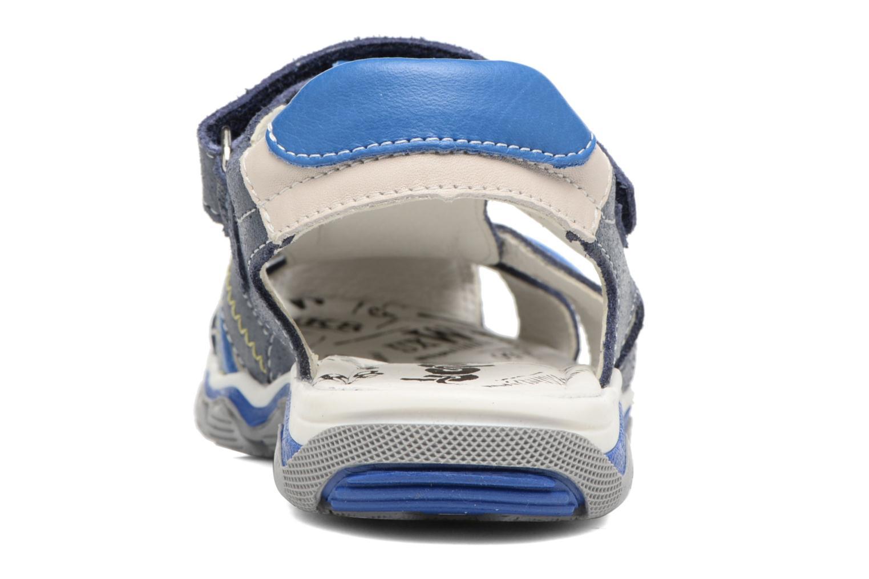 Sandales et nu-pieds Bopy Ebriac Bleu vue droite