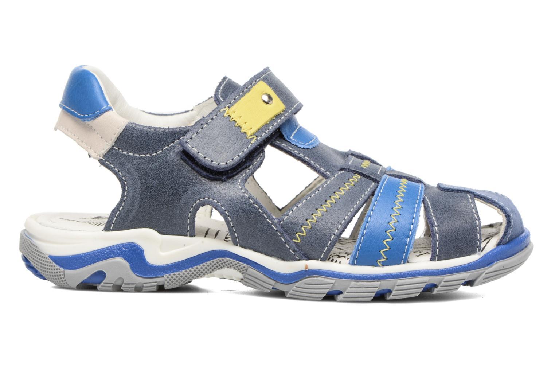 Sandales et nu-pieds Bopy Ebriac Bleu vue derrière